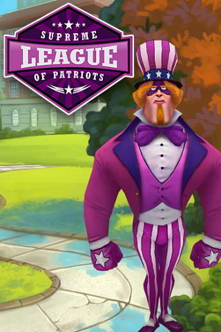 Supreme League of Patriots Issue 1: A Patriot Is Born